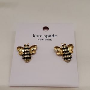 Sale:Kate Spade Picture Perfect Bee Earrings